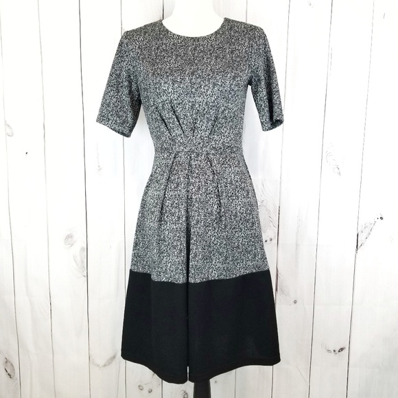 41 Hawthorn Dresses & Skirts - 41 Hawthorn Gray and Black Color Block Dress